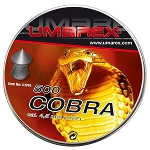 Diabolos Umarex Cobra für Luftgewehr, Kal. 4,5mm geriffelt, 500 Stück