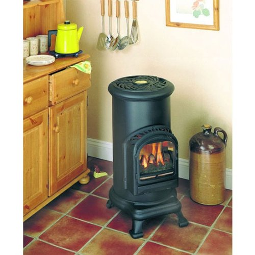 THURCROFT LIVING FLAME FLUELESS GAS STOVE