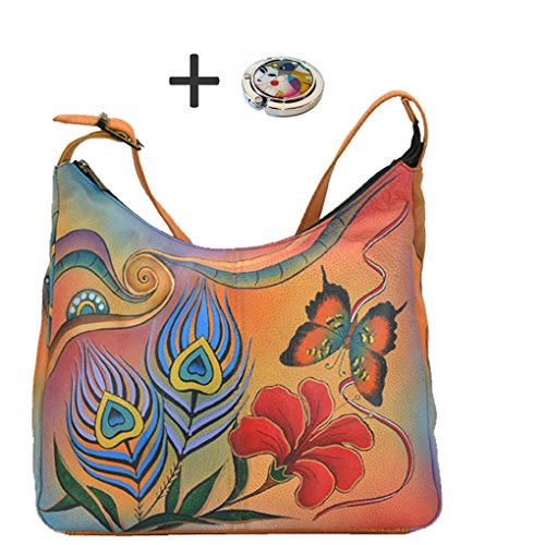 anuschka-hobo-handbag-hand-painted-design-on-real-leather-top-quality-daily-purse-free-purse-holder-