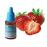 """#9: 10ml E-Liquid Geschmack """"Strawberry"""" der Geschmackszusatz für Ihre elektrische Zigarette (Flash Liquid) Original"""