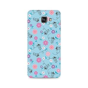 Ebby Floral Girly Wall Premium Printed Case For Samsung A710 2016 Version