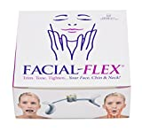 Facial Flex Facial Exercise and Neck Toning Kit Facial Flex Ultra Device, Facial Flex Bands 8 oz & 6 oz Packs & Carrying Case - FDA-Registered Exercise Devices for Face Lift Toning & Strengthening