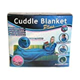 Comfy Cuddle Blanket Plus - PINK - Extra Cosy Fleece Body Blanket with Sleevesby Drw