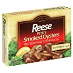 Reese Smoked Oysters Petite 3.7 oz. (...