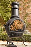 La Hacienda: Murcia Medium Steel Chiminea BBQ