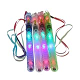 36 Pcs Assort Color Flashing LED Light Glow Wand Stick Wholesale Party Supply