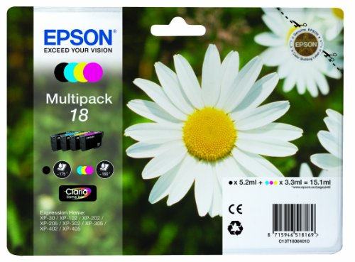 epson-xp30-202-302-405-standard-capacity-ink-cartridges-black-cyan-magenta-yellow-pack-of-4