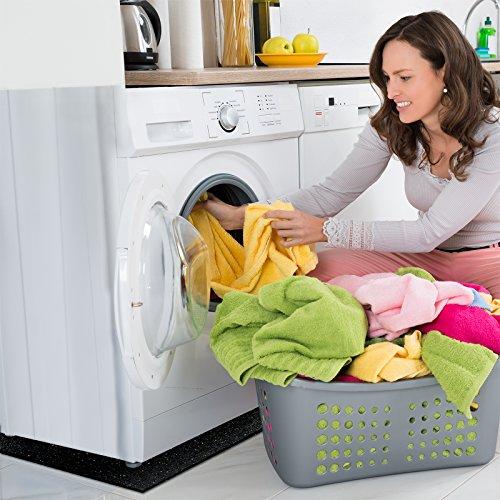 Dalle anti vibration etm pour machine laver s che - Meuble pour machine a laver et seche linge ...