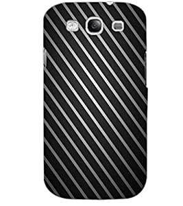 SAMSUNG GALAXY S3 STRIPES Back Cover by PRINTSWAG