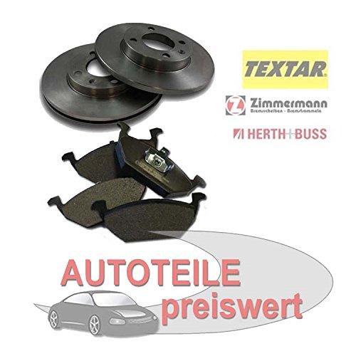 2 Bremsscheiben + Bremsbeläge vorne Opel Corsa C Meriva Tigra 260mm 1,3 1,4 1,6 1,7 CDTI 16V