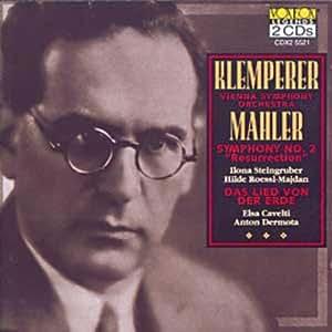 """MAHLER:Symphony No. 2 """"Resurrection"""", Das Lied von der Erde"""