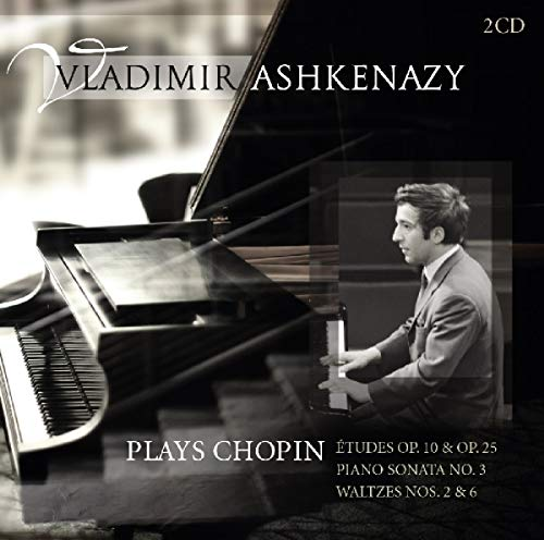 CD : Vladimir Ashkenazy - Plays Chopin (Holland - Import, 2PC)