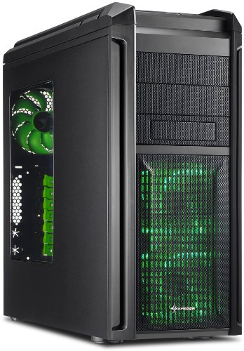 Sharkoon Tauron ATX Midi Tower - Green