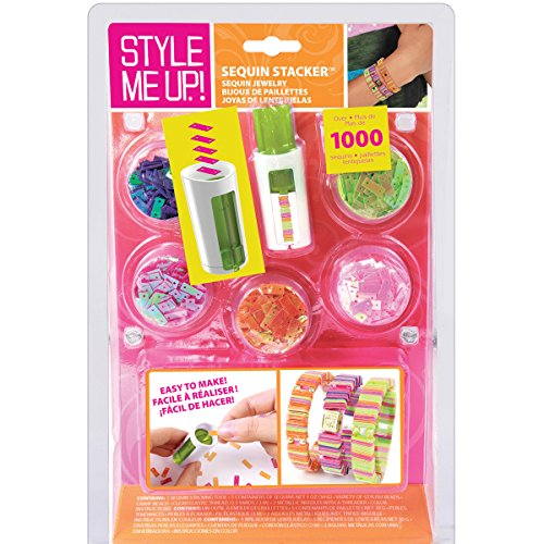 Wooky Entertainment Style Me Up! Sequin Stacker Kit, Teal