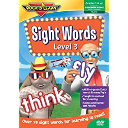 Sight Words Level 3 (Rock 'N Learn)