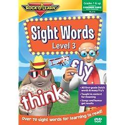 Sight Words Level 3 (Rock 'N Learn)