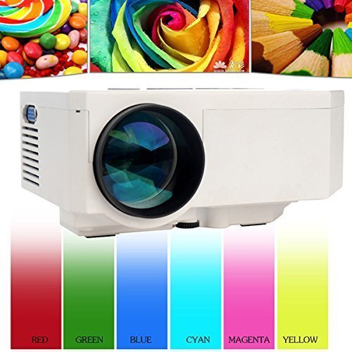Multi-Media Mini Hd Portable Led Projection Micro Home Projector front-68900