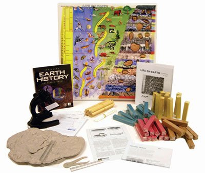American Educational 158 Exploring Life On Earth: A Fossil History Activity Kit
