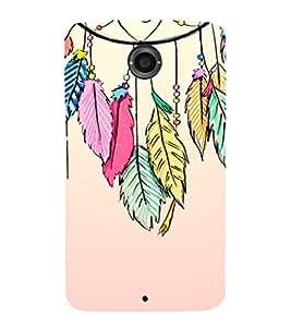 EPICCASE Hanging Leaves Mobile Back Case Cover For LG Nexus 6 (Designer Case)