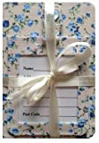 Blue Blossom Gift Luggage tag and Passport Cover Travel Set