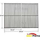 bbq-parts SCG527 7527 9869 7526 7525 Stainless Steel ROD BBQ Replacement Cooking Grill ROD Grid Grate for Weber 7527, Lowes Model Grills, Sold as a set of 2
