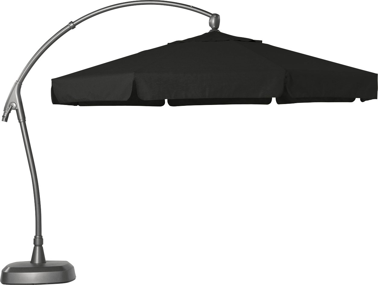 Hartman Ampelschirm 350 cm Scope dunkelgrau Sonnenschirm Sonnenschutz Alu Textil Parasol jetzt bestellen