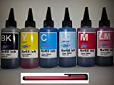 Ink refill set for CIS/CISS or