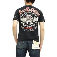 (クールドライブストライカー) Tシャツ ネイティブスカル COOL DRIVE STRIKER メンズ 半袖tee 423101 黒