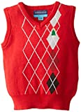 Andy & Evan Baby Boys' Red Christmas Tree Sweater Vest