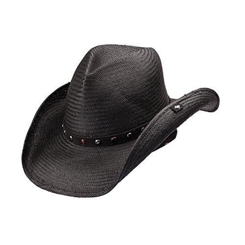 peter-grimm-ltd-unisex-seraphim-straw-cowboy-hat-black-one-size