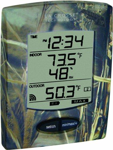La Crosse Technology WS-9029U-IT-CAMO Wireless Weather Station with Optional Probe, Camouflage