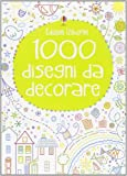 img - for 1000 disegni da decorare book / textbook / text book
