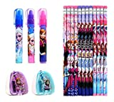 Disney Frozen Elsa and Anna Kids Stationery Set (17 Pcs)