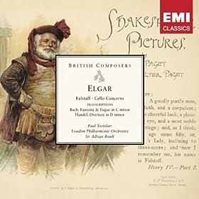 Elgar Falstaff, Cello Concerto etc