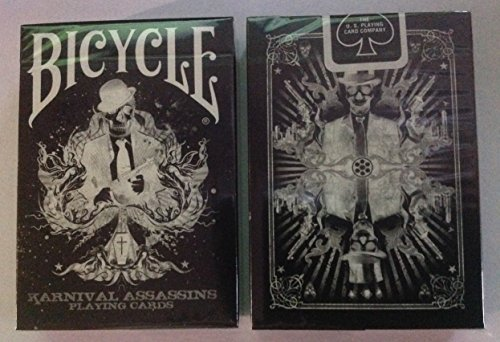 ... - Bicycle Black Tiger Playing Cards By Ellusionist - Black Pips