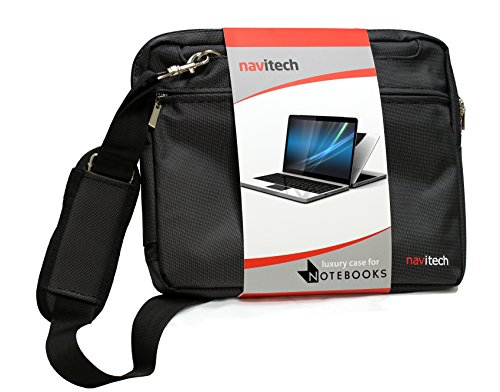 "Navitech Black 11.6-Inch Laptop / Notebook / Ultrabook Case / Bag For The Lenovo Thinkpad X140E / Thinkpad Yoga 12.5 / Thinkpad 11E / Thinkpad Yoga 11E / Yoga 2 11 / S20 / A10 10.1"" / Flex 10 """