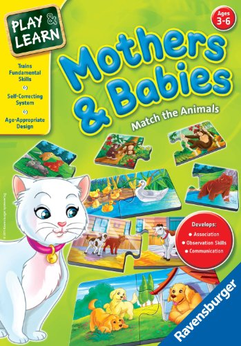 Ravensburger Mothers And Babies - Learning Game - 1