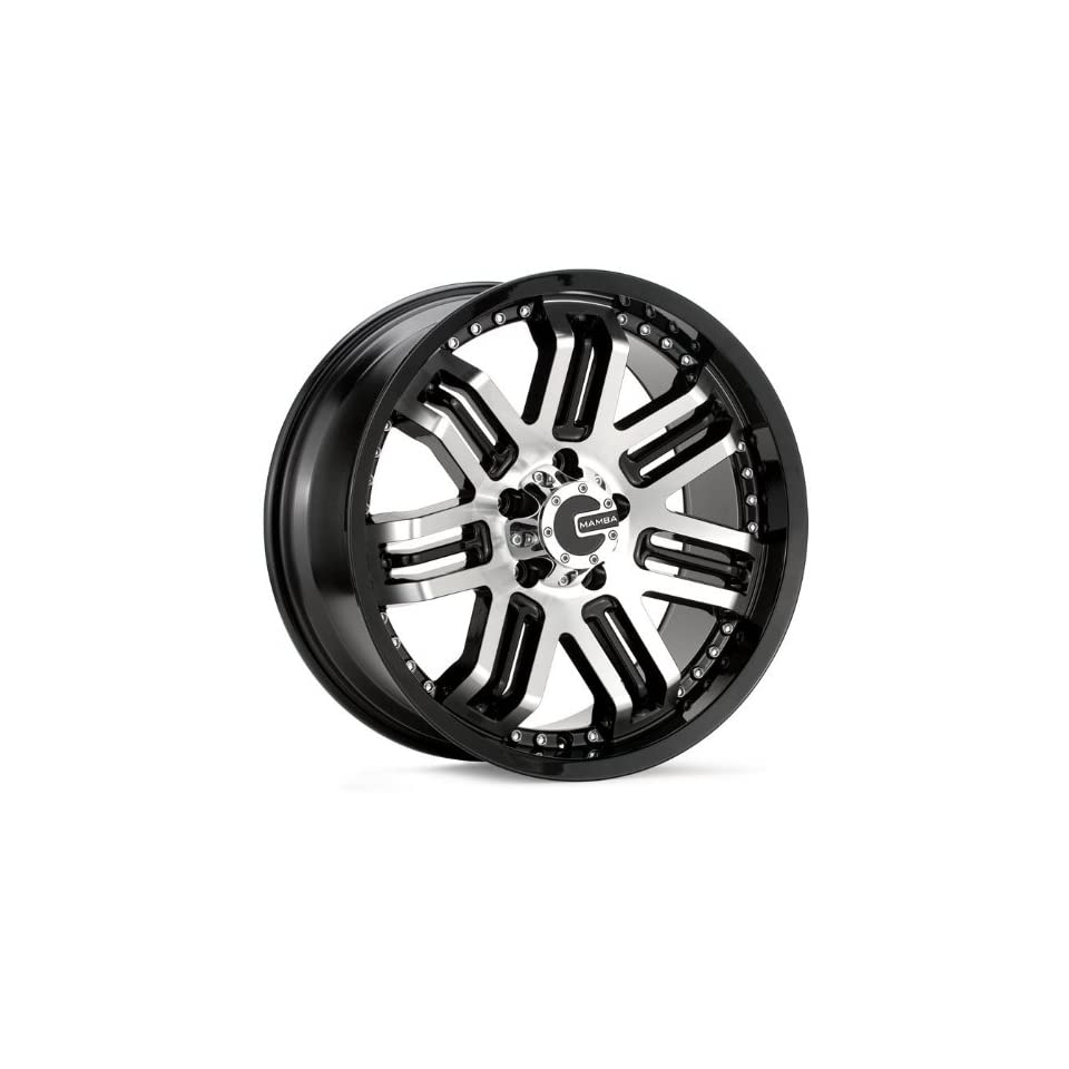 18x9 Mamba Type M3 (Black / Machined) Wheels/Rims 5x139.7 (MAMM3 8985B