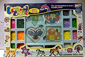 Viskey Children Vright Corlors Beads Tray/Beads Activity