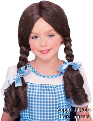 Dorothy From The Wizard of Oz Wig (Child and Adult)