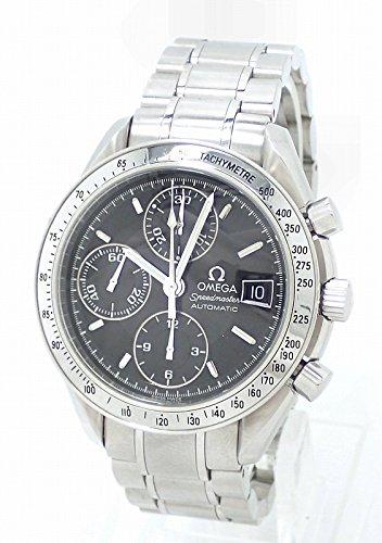 [オメガ] OMEGA スピードマスター デイト クロノグラフ ブラックダイアル メンズ AT オートマ 腕時計 3513.50 [中古]