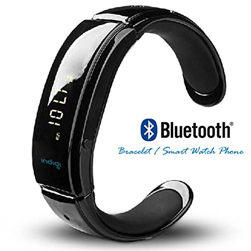 Indigi® Bluetooth Sync Smart Watch Phone Bracelet W/ Oled Display For All Iphone 5S 5C 5 4S 4 (Us Seller)