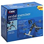 Carex Pedal Exerciser, with Digital Display, 1 exerciser