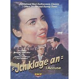 Ich Klage An (I Accuse) DVD