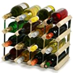 Traditional Wooden Wine Racks - Pine...