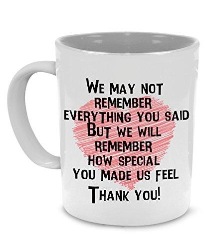Thank You Teacher Coffee Mug for Retirement