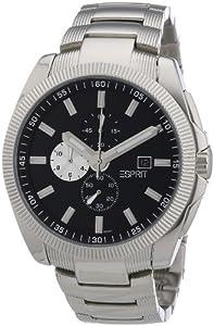 Esprit Herren-Armbanduhr Fast Lane Analog Quarz ES100981001