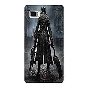 Unicovers Dark Hunk Back Case Cover for Vibe Z2 Pro K920