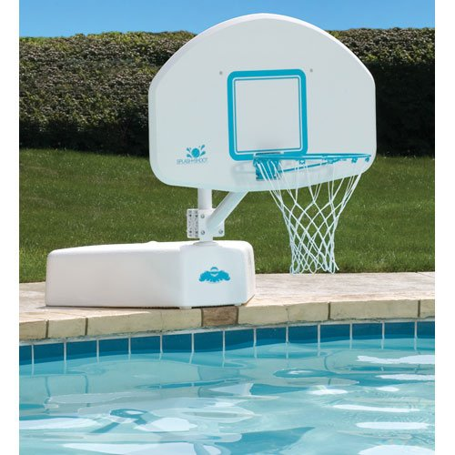 Dunnrite splash and shoot swimming pool basketball hoop with stainless steel rim home garden spa - Pool basketball ...