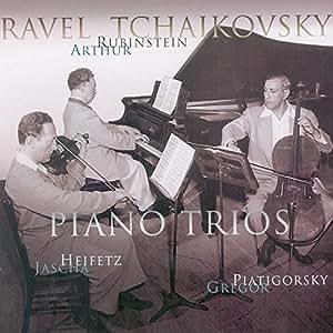 Ravel : Trio avec piano en la mineur - Tchaïkovski : Trio avec piano en la mineur, à la mémoire de Nicolaï Rubinstein, op 50